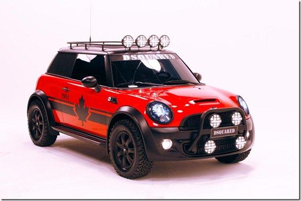 MINI mostra o Red Mudder – um Cooper S personalizado que irá a leilão