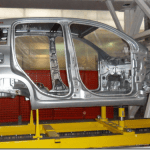 Primeiras imagens da carroceria do novo Fiat Panda