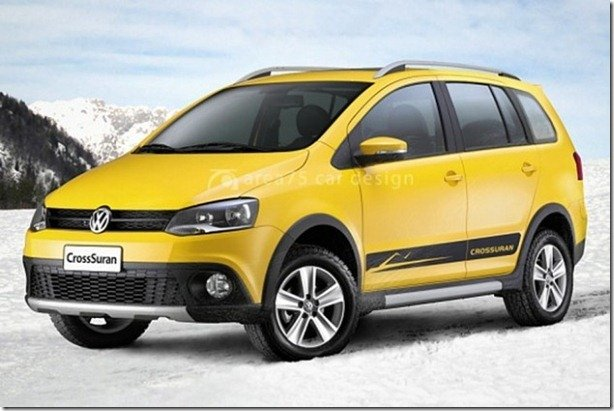 Informações oficiais sobre o Volkswagen SpaceCross