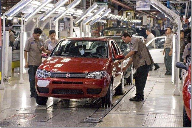 Nova fábrica da Fiat pode mudar de cidade
