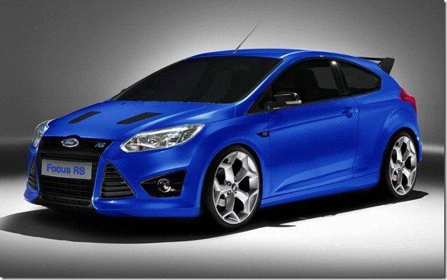 Ford confirma o novo Focus RS