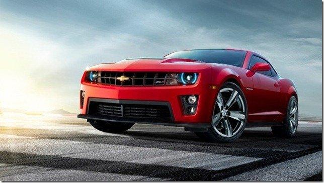Chevrolet Camaro ZL1 terá 580 cavalos sendo o mais potente da história da marca