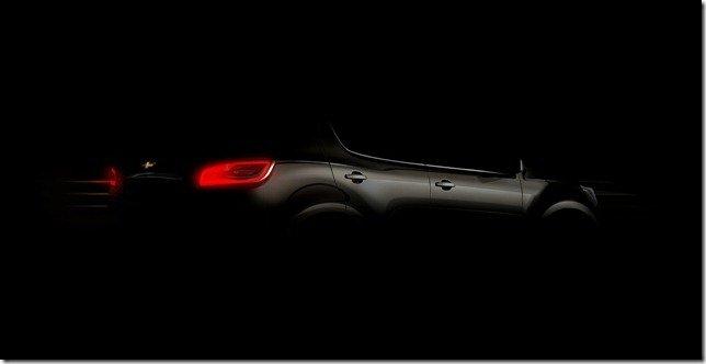 Primeiro teaser do sucessor da Chevrolet Blazer