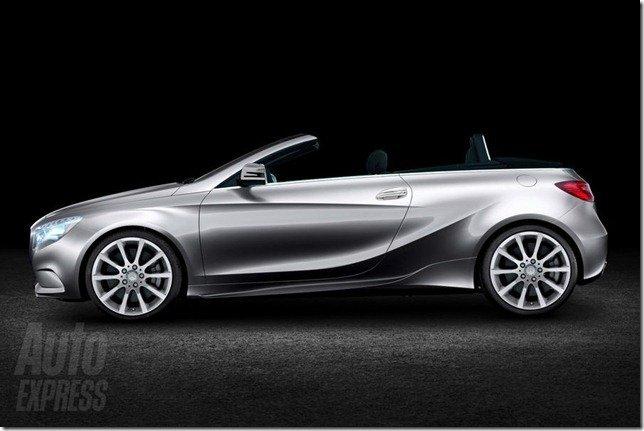 Mercedes Classe A poderá ter versão conversível