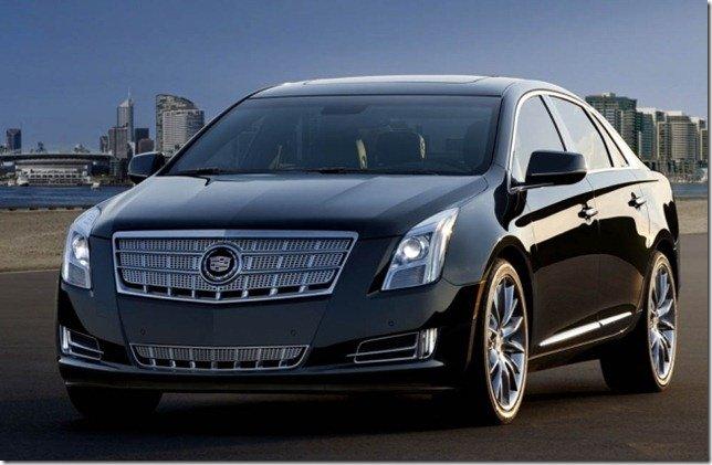 Cadillac revela o sedã XTS