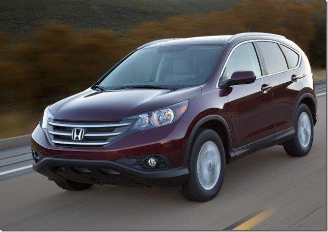 Eis o Honda CR-V 2012