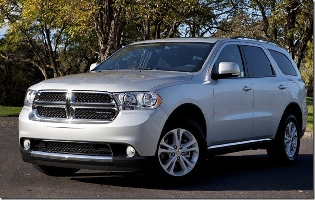 Dodge Durango chega no primeiro semestre de 2012