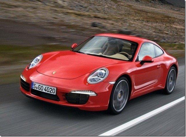 Nova geração do Porsche 911 chega até março