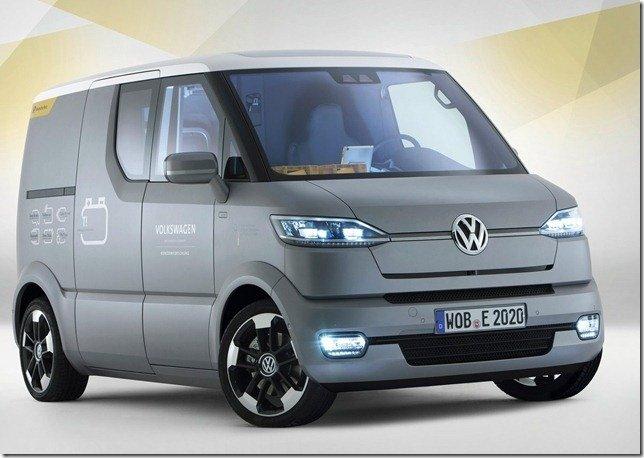 Volkswagen eT!, um conceito pensado para os correios