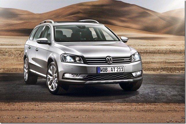 Volkswagen Passat Alltrack será apresentado em Tóquio