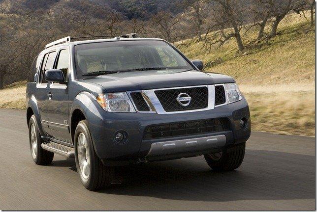 Nova geração do Nissan Pathfinder será apresentada em Detroit