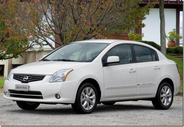 Nissan Sentra 2010/2011 é convocado para recall