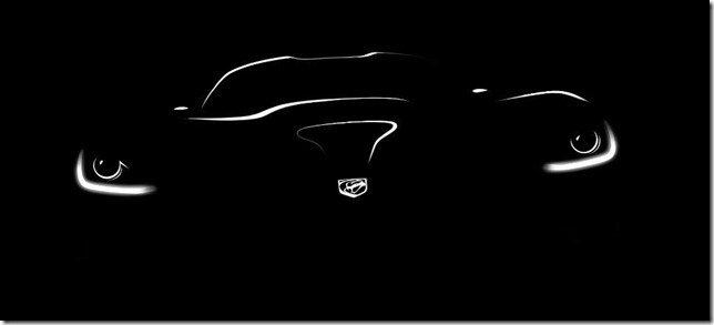 Primeiro teaser do SRT Viper