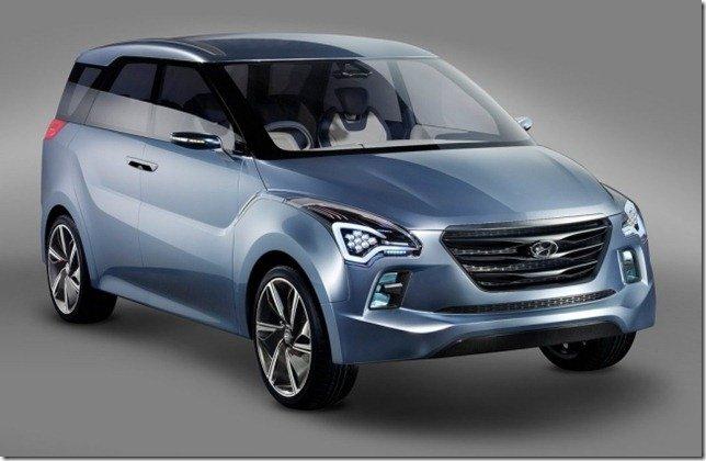 Hyundai Hexa Space é apresentado no Salão de Nova Deli