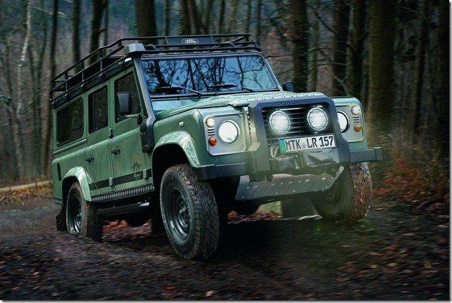 Land Rover Defender Blaser Editon: a nova arma dos caçadores