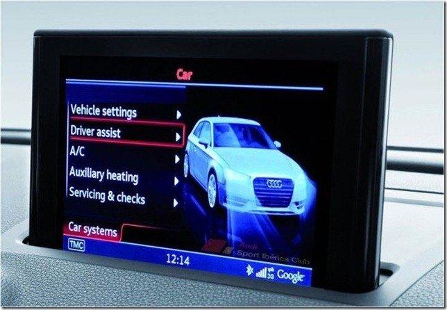 Audi A3 tem interior e frente revelados