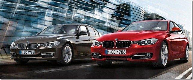 BMW Série 3 2012 ganha novas versões, inclusive a 320i
