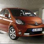 Toyota Aygo apresenta ligeiras mudanças para a linha 2012
