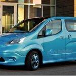Nissan mostra o e-NV200 em Detroit