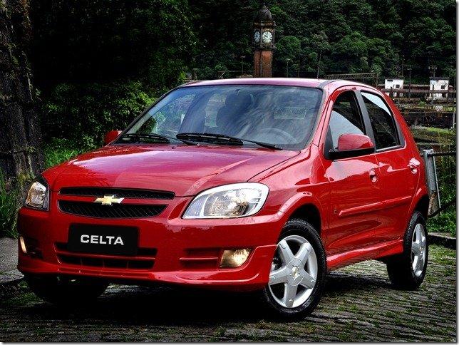 Chevrolet Celta 2013 poderá ganhar airbags