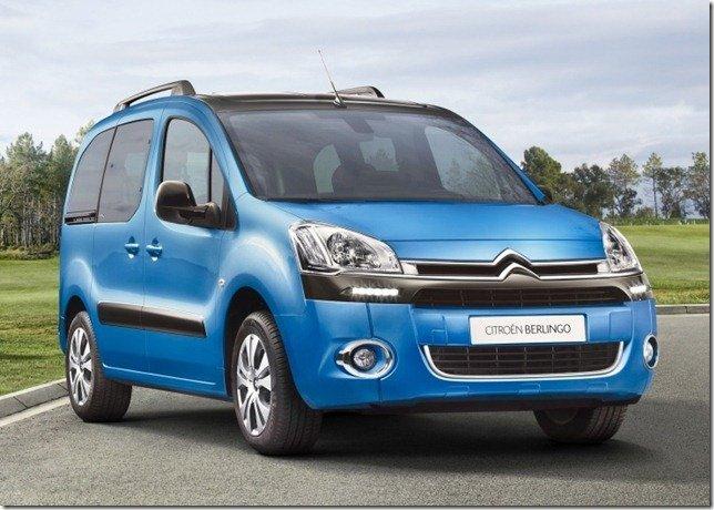 Citroën mostra o Berlingo 2012