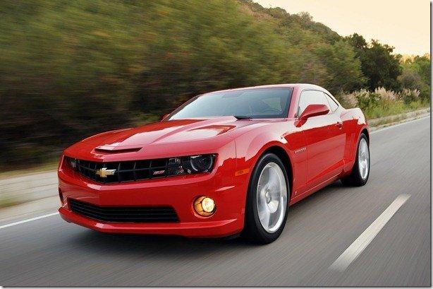 Chevrolet Camaro 2012 chega por R$ 199 mil