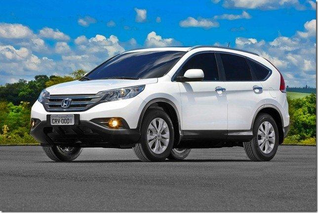 Honda CR-V 2012 parte dos R$ 84.700