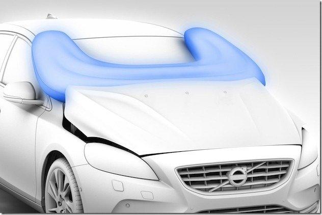 Video – Volvo V40 estreia airbag para pedestres