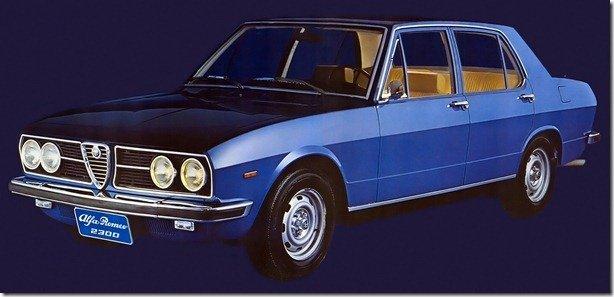 Modernidade e Sofisticação: Alfa Romeo 2300