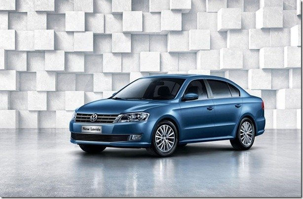 Volkswagen Lavida ganha novo visual