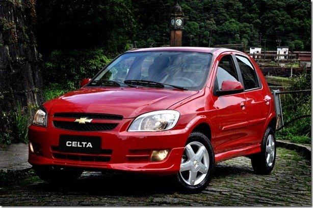 Chevrolet Celta custa a partir de R$ 24.049 com redução do IPI