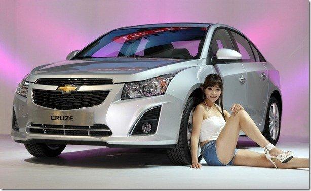 Reestilizado, Chevrolet Cruze 2013 é lançado na Coreia do Sul