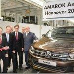 Volkswagen Amarok agora também é montada na Alemanha