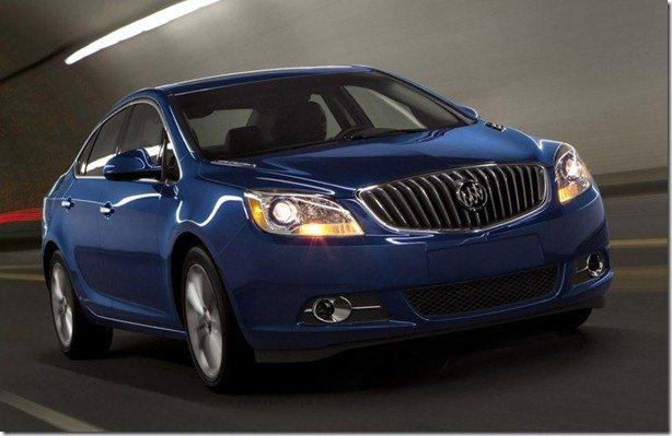 Buick Verano Turbo é novidade da linha 2013