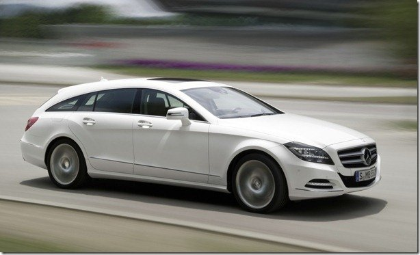 Mercedes revela o CLS Shooting Brake