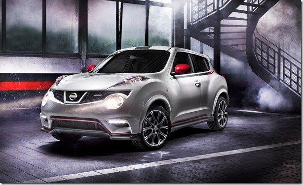 Nissan Juke Nismo tem primeiras imagens oficiais reveladas