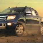 Topo de linha, nova Ford Ranger Limited custará R$ 130.900