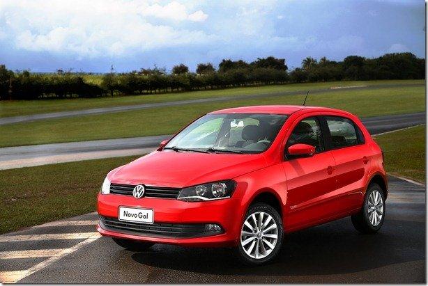 Volkswagen apresenta novos Gol e Voyage 2013