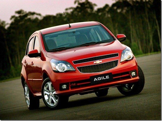 Chevrolet Agile ganha câmbio automatizado em agosto
