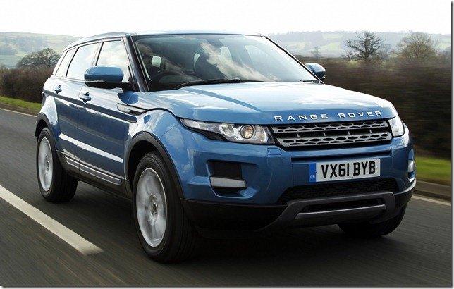 Range Rover Evoque teve 80 mil unidades produzidas em um ano