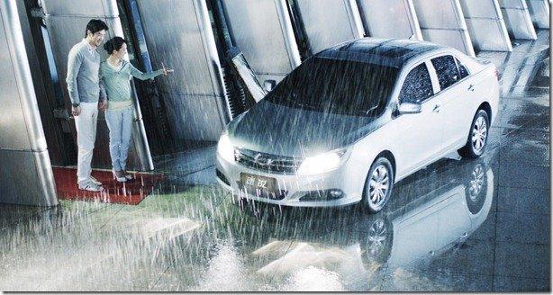 BYD F3 Plus estaciona por controle remoto