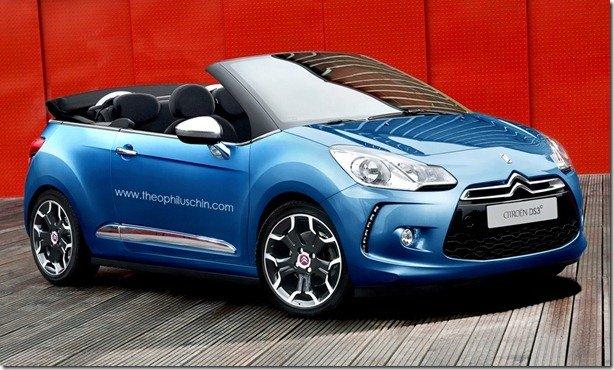 Citroën DS3 conversível poderá aparecer no Salão de Paris
