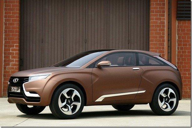 Lada apresenta XRAY Concept em Moscou