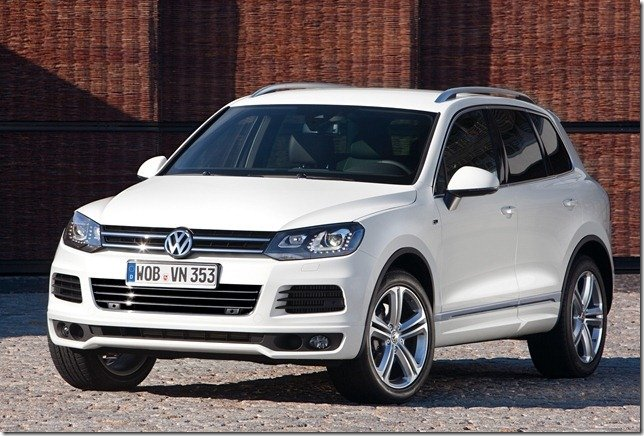 Volkswagen Touareg R-Line chega por R$ 333.700