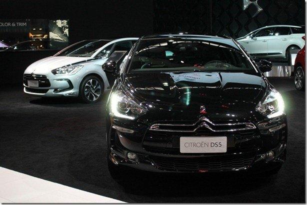 Salão de São Paulo: Citroën destaca linha DS e os luxos de seus modelos