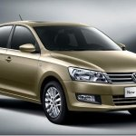 Volkswagen revela novo Santana para a China
