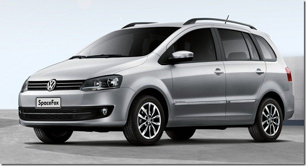 Volkswagen SpaceFox tem novidades na linha 2013