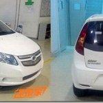 Shanghai-GM mostra teaser do Chevrolet Springo, o Sail elétrico