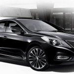Hyundai Azera 2013 ganha nova grade na Coreia do Sul