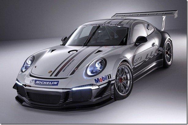 Porsche revela o 911 GT3 Cup